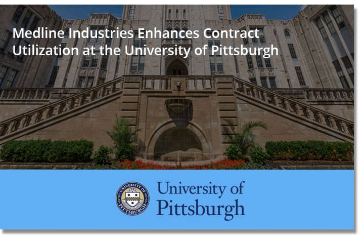 Medline Industries Enhances Contract Utilization at the University of Pittsburgh