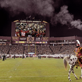 Website 2. Florida State Doak Campbell Stadium